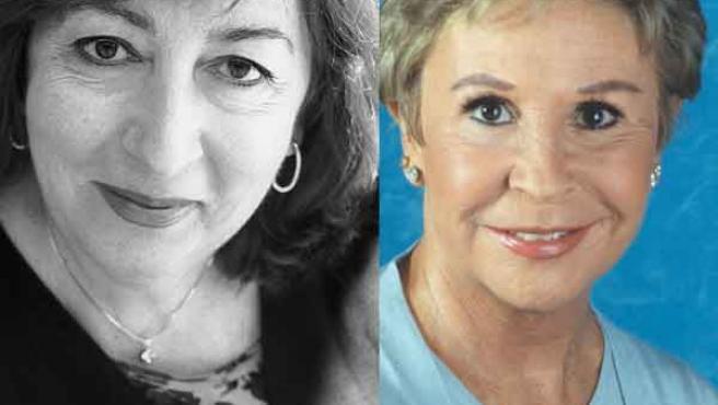 Empar Ferrer y Lina Morgan. (VERTELE / ARCHIVO)