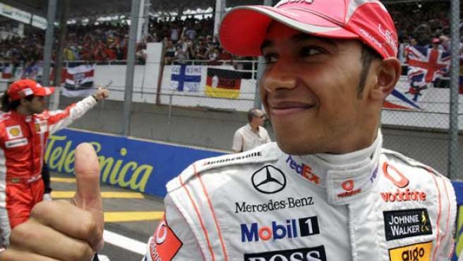 Hamilton, nuevo campeón del mundo (Agencias).
