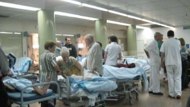 Sala de urgencias de un hospital. (ARCHIVO)