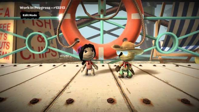 'Little Big Planet' se nutre de la imaginación de los jugadores.