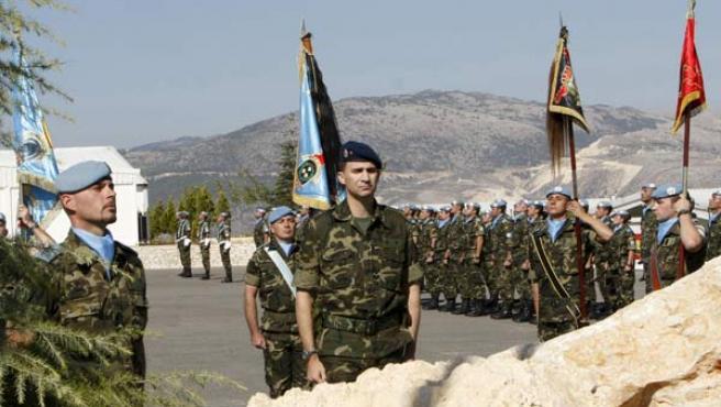 El Príncipe Felipe visita Líbano por sorpresa (EFE).