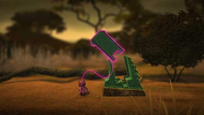 En 'Little Big Planet', los jugadores pueden crear y compartir sus niveles.