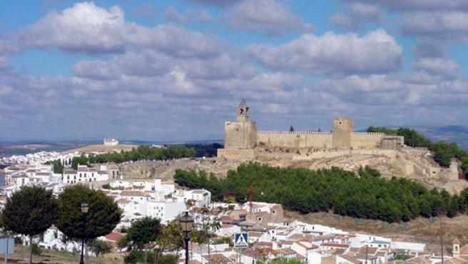 Vista de la alcazaba de Antequera.