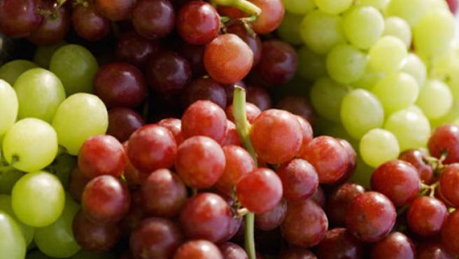 Las uvas tiene gran poder humectante.