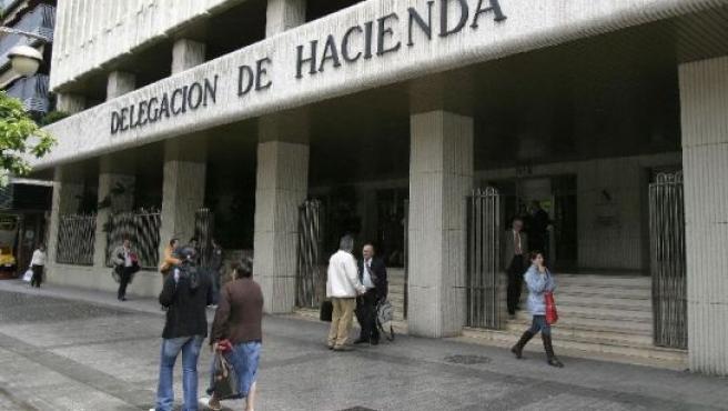 La delegación de Hacienda en Córdoba. (Foto: Archivo).