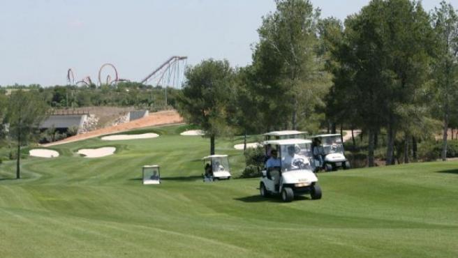 Imagen de un campo de golf. (ARCHIVO)