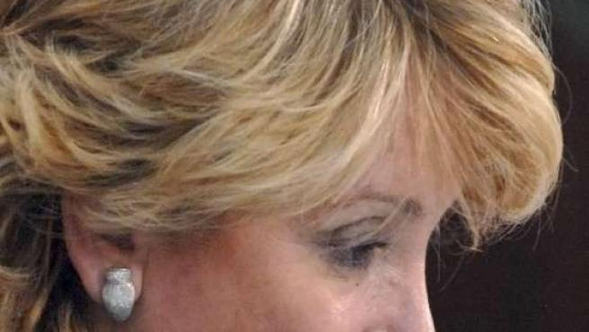 Esperanza Aguirre, en una foto de archivo.