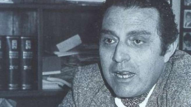 El escritor Alfonso García. (ARCHIVO)