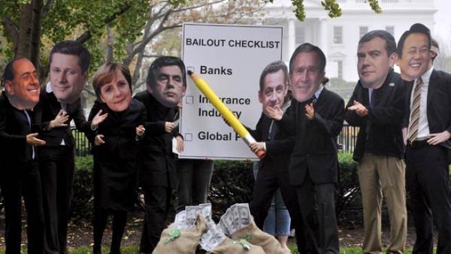 Protestas por la Cumbre del G-20 (AGENCIAS).