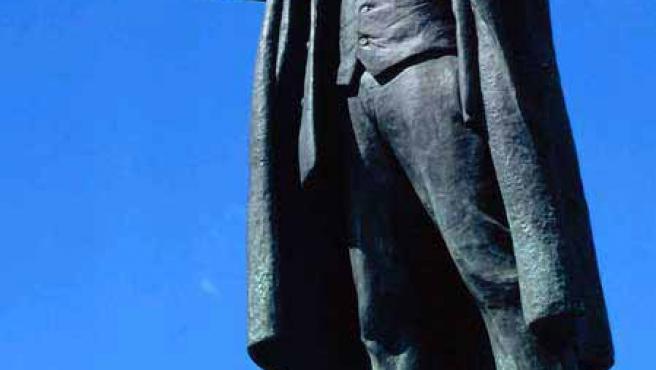 Estatua de Lenin en Moscú. (ARCHIVO)