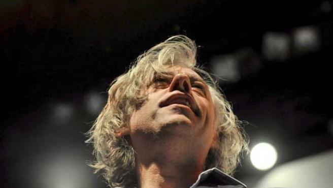 El músico Bob Geldof en una imagen de archivo. FOTO: EFE.