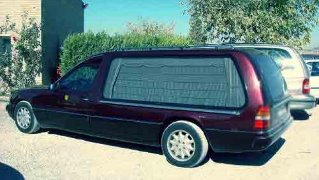 Coche fúnebre. (ARCHIVO)
