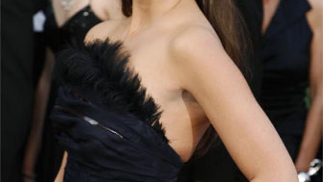 Penélope Cruz posa durante la última gala de los Oscar (ARCHIVO).