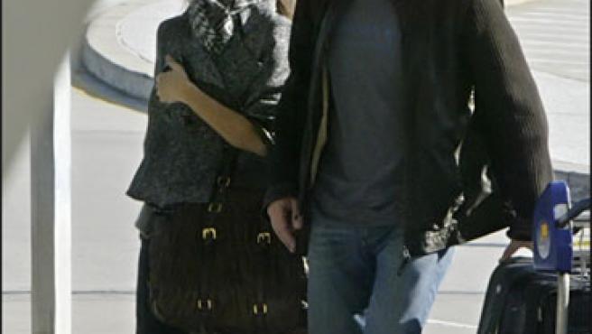 Penélope Cruz pasea con Javier Bardem en una foto de archivo (KORPA).