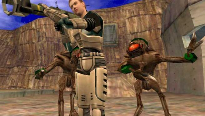 Captura del primer 'Half-Life'.