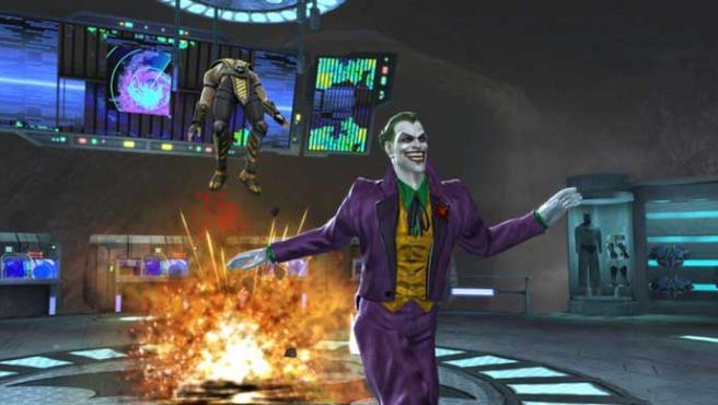 El Joker y Scorpion en 'Mortal Kombat vs. DC Universe'.