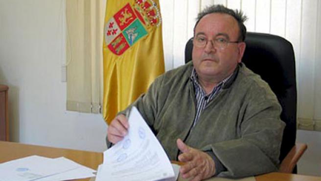 El alcalde de Librilla, José Martínez, del PP. (EFE)