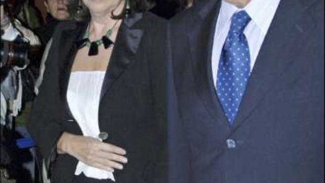 Felipe Gónzález y Carmen Romero en 2006. (ARCHIVO)