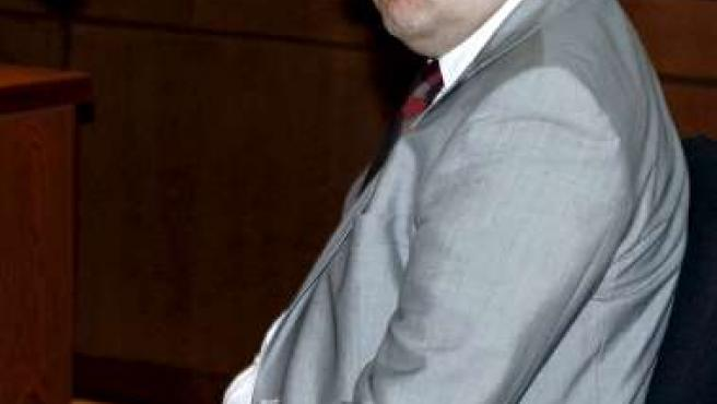 El juez Ferrín Calamita, en los tribunales de Murcia.