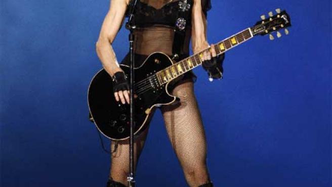 La cantante Madonna, en un concierto.