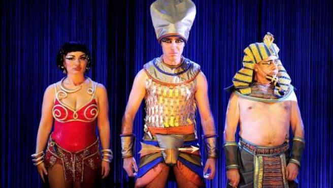 La corte del Faraón. (Foto: David Ruano)