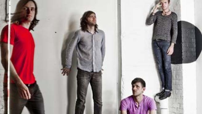 La banda The Faint.