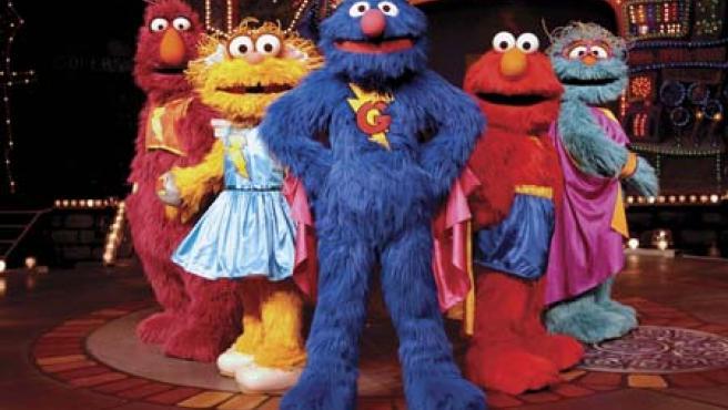 Supercoco y sus amigos.
