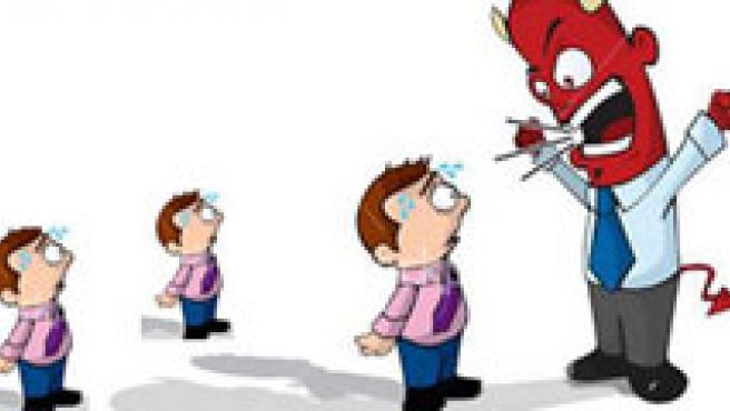 Un mal jefe incrementa la probabilidad de sufrir un infarto.