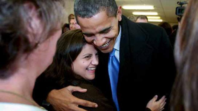 Barack Obama, durante la campaña electoral. EFE