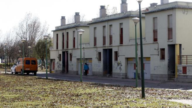 Las casas sociales ubicadas en San Pedro Regalado.