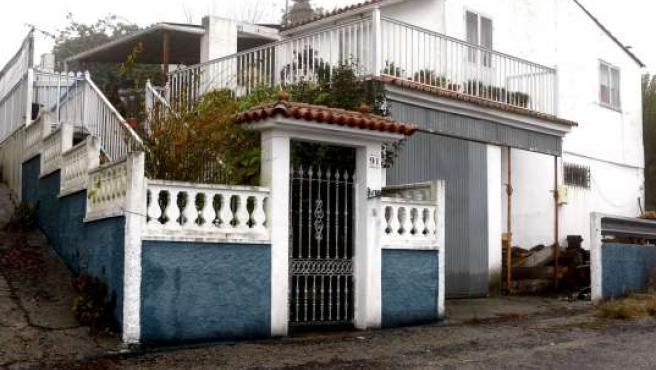 Vivienda en la que Maximino Couto, en permiso penitenciario, asesinó a su novia. EFE / S.S