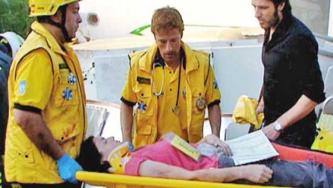 Una escena del capítulo de 'Hospital Central'.