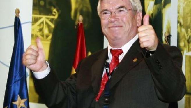 El alcalde de Getafe y presidente de la Federación Española de Municipios y Provincias, Pedro Catro. (ARCHIVO)