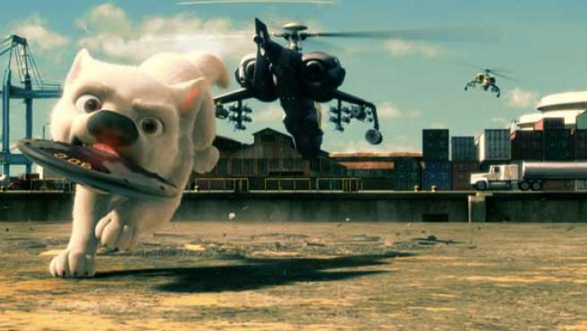 Imagen de 'Bolt', lo nuevo de Disney.