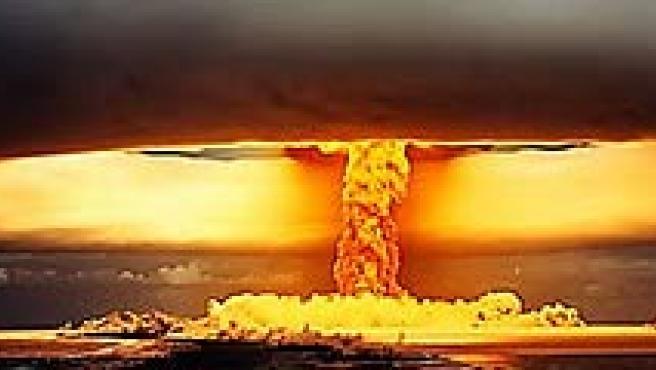 Simulación de una explosión nuclear (AGENCIAS).