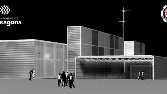 Imagen virtual de la nueva comisaría de la Guardia Urbana de Tarragona.FOTO: Ajuntament de Tarragona