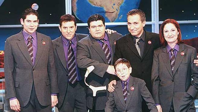 El equipo primigenio de 'Crónicas Marcianas'.