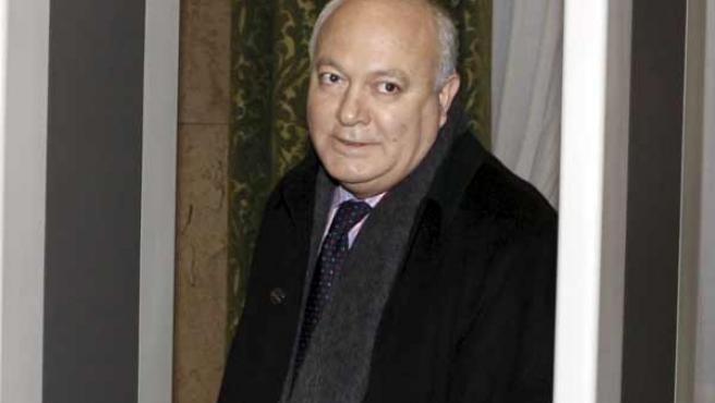 Miguel Ángel Moratinos, tras su comparecencia (AGENCIAS).