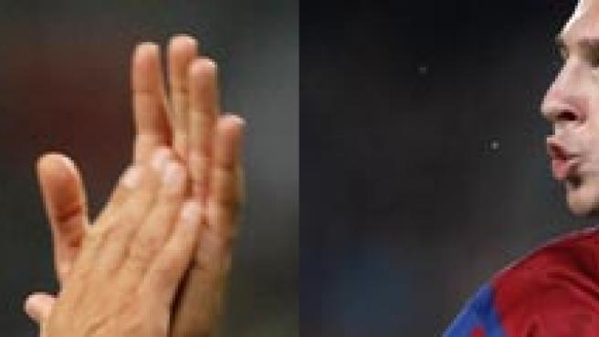 Raúl y Messi , protagonistas.