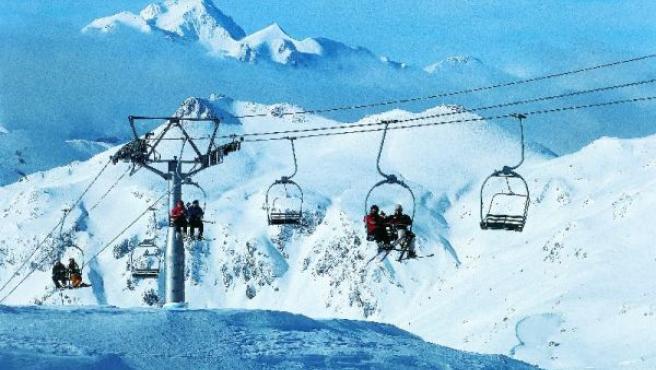 Imagen de archivo de la estación de esquí de Valdelinares.