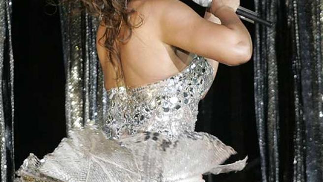 La cantante Beyoncé, en una actuación en China.