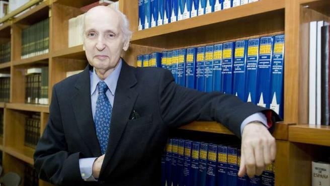 Santiago Grisolía, científico y presidente del Consell Valencià de Cultura.