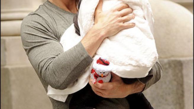 Tom Cruise y su hija Suri (KORPA).