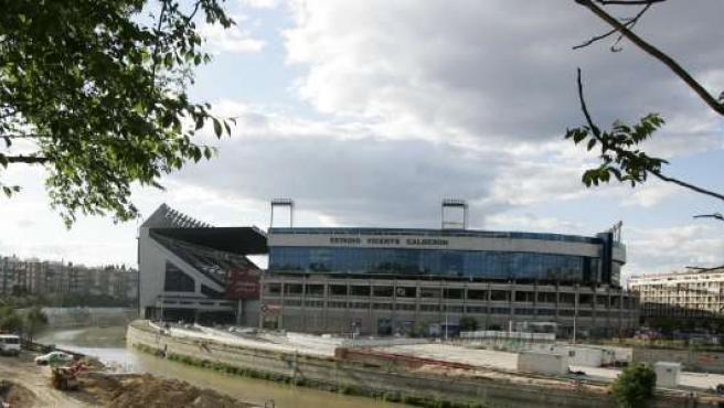 El Vicente Calderón es el estadio del Atlético de Madrid. (ARCHIVO)