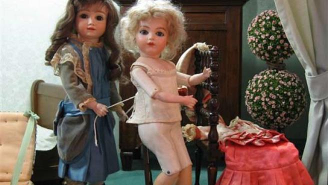 Museo de las muñecas y juguetes en Francia.