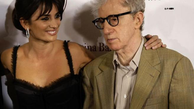 Penélope Cruz y Woody Allen.