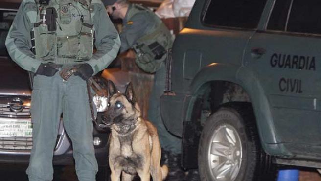 Uno de los operativos policiales contra ETA (AGENCIAS).
