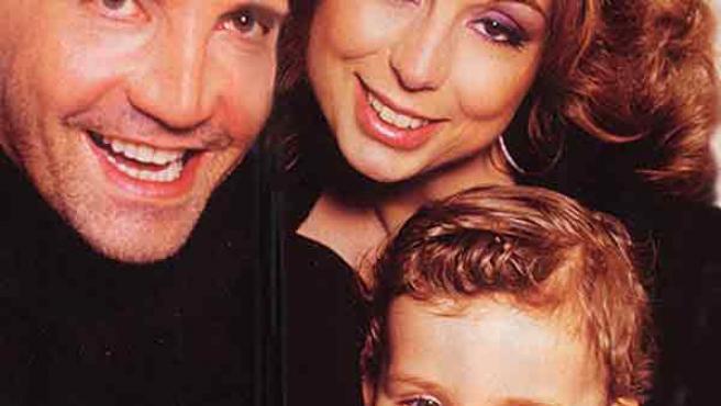 Marina Berlusconi, junto a su familia, en una imagen de archivo.
