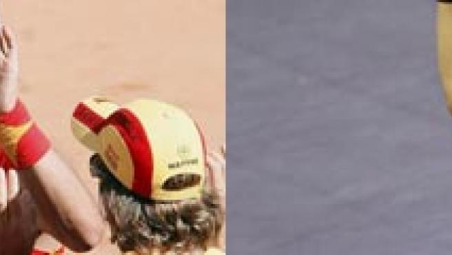 Nadal y Djokovic, en una imagen de archivo.