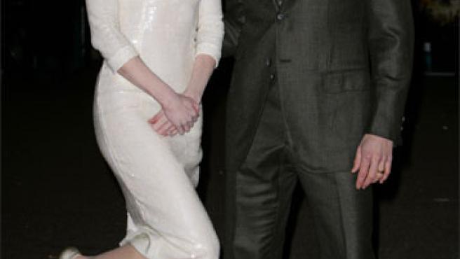 Nicole Kidman y su compañero de reparto, Hugh Jackman (KORPA).